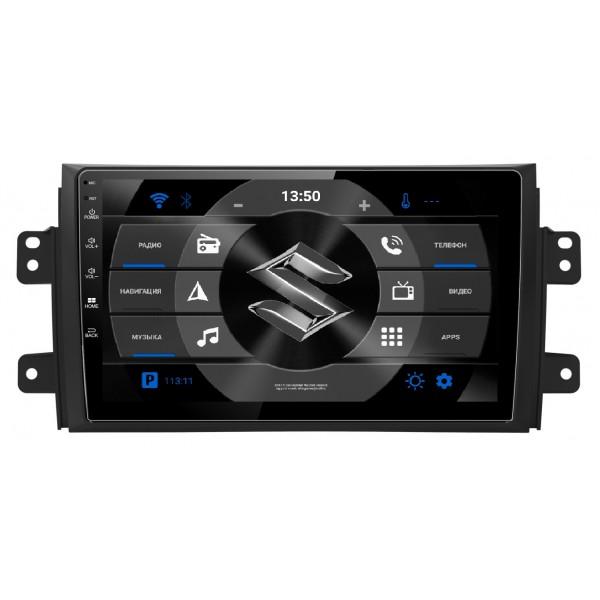 """Головное устройство Subini SUZ901Y с экраном 9"""" для Suzuki SX4 (2006-2016) (+ Камера заднего вида в подарок!)"""