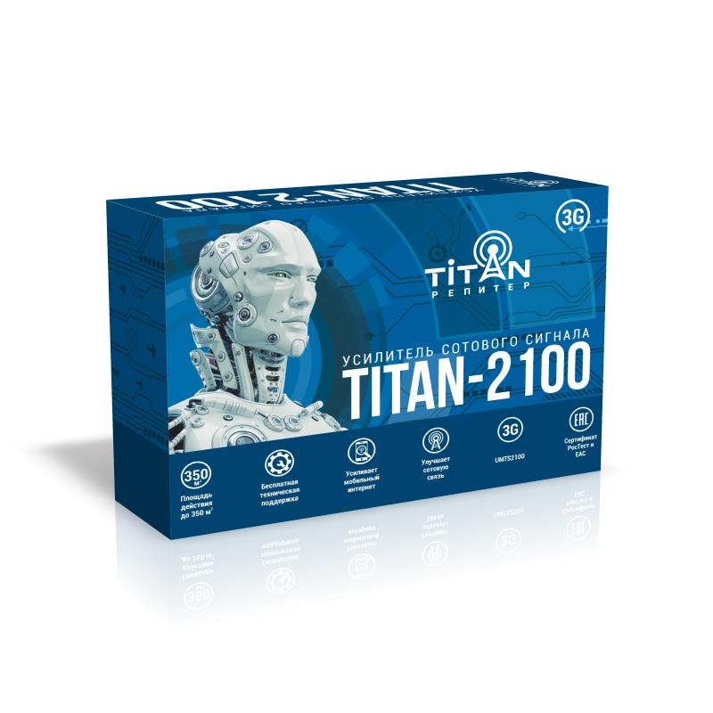 Усилитель сигнала сотовой связи (репитер) Titan-2100 репитер titan 2100