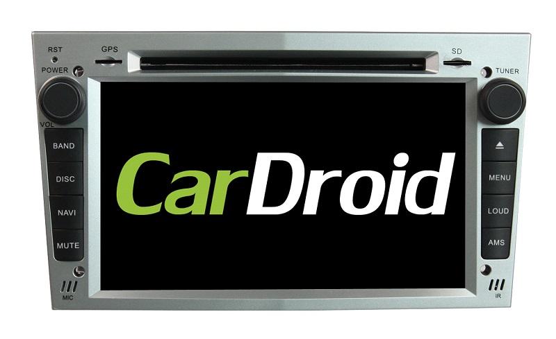 купить Штатная магнитола Roximo CarDroid RD-2801S для Opel Astra, Vectra, Corsa 2004-2011 (Android 8.0) серебро (+ камера заднего вида) онлайн