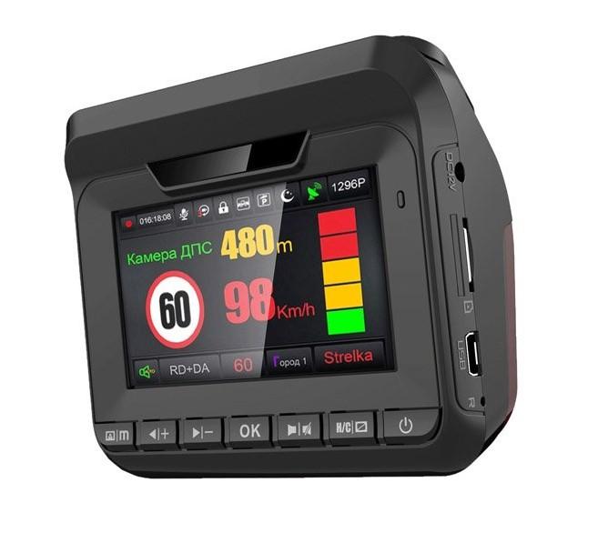 Eplutus GR-96 видеорегистратор с радар-детектором и GPS (+ Антисептик-спрей для рук в подарок!)