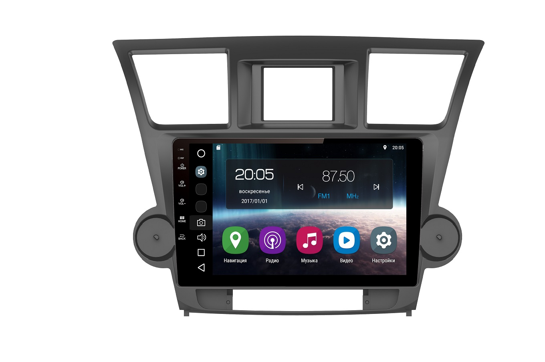 Штатная магнитола FarCar s200 для Toyota Highlander на Android (V035R)