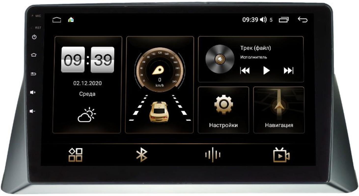 Штатная магнитола LeTrun 3799-1114 для Honda Crosstour I 2009-2013 на Android 10 (4/64, DSP, QLed) (+ Камера заднего вида в подарок!)