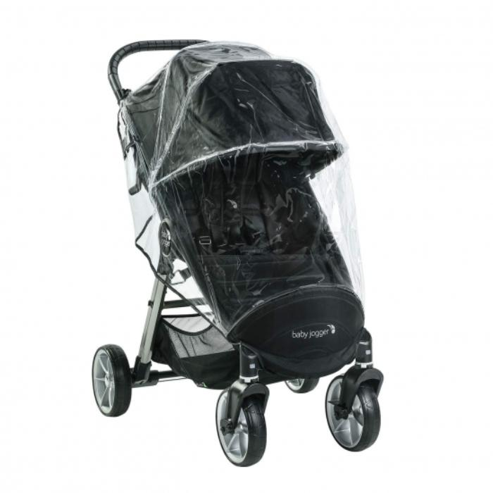 Картинка для Дождевик для колясок Baby Jogger Weather Shield City Mini 4 Wheels-2