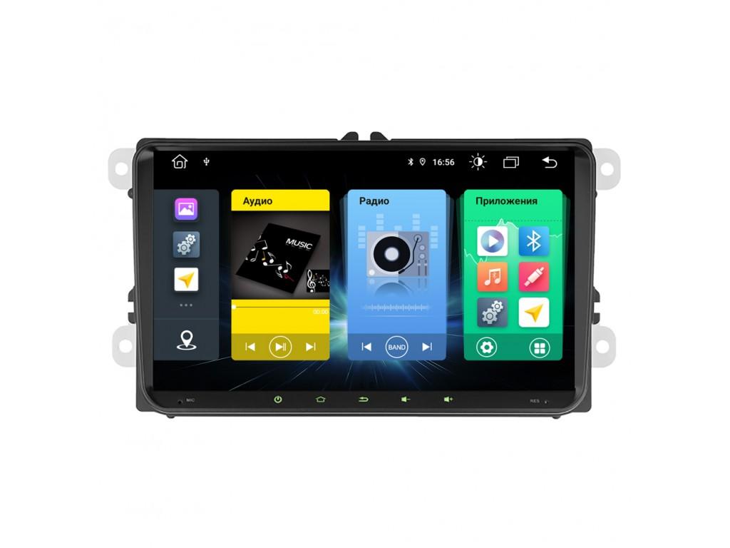 Головное устройство vomi FX102R9-MTK-LTE для Volkswagen universal (+ Камера заднего вида в подарок!)