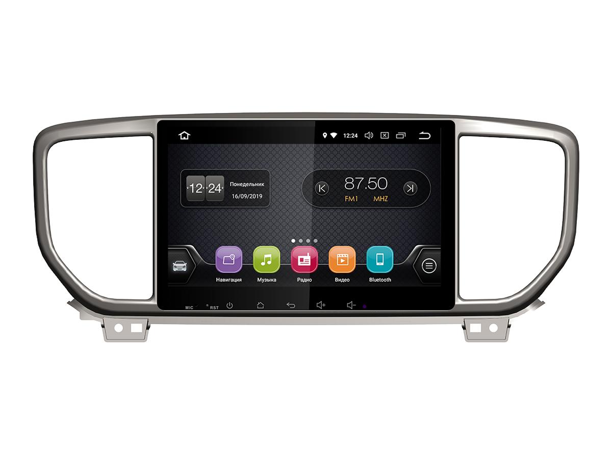Штатная магнитола INCAR TSA-1849LP для KIA Sportage (Luxe, Prestige 2019+) Android 8.1 (+ Камера заднего вида в подарок!)