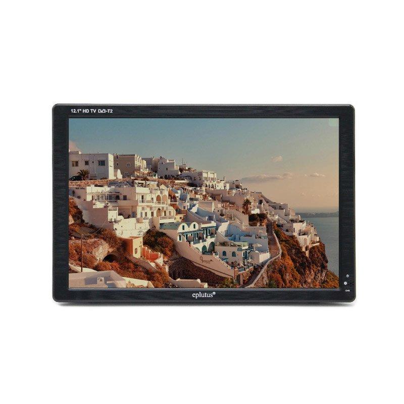 Фото - Телевизор с цифровым тюнером DVB-T2 12.1 Eplutus EP-121Т (+ Разветвитель в подарок!) автомобильный телевизор eplutus ep 1608t разветвитель в подарок