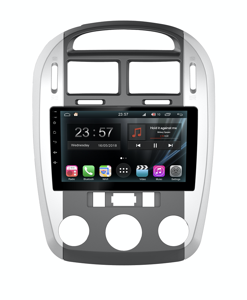 Штатная магнитола FarCar s300-SIM 4G для KIA Cerato на Android (RG046R) (+ Камера заднего вида в подарок!)