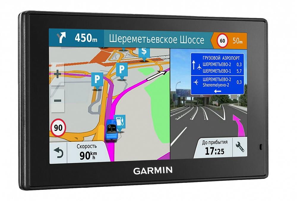 Автомобильный навигатор Garmin DriveSmart 51 RUS LMT garmin drive 50 rus lmt