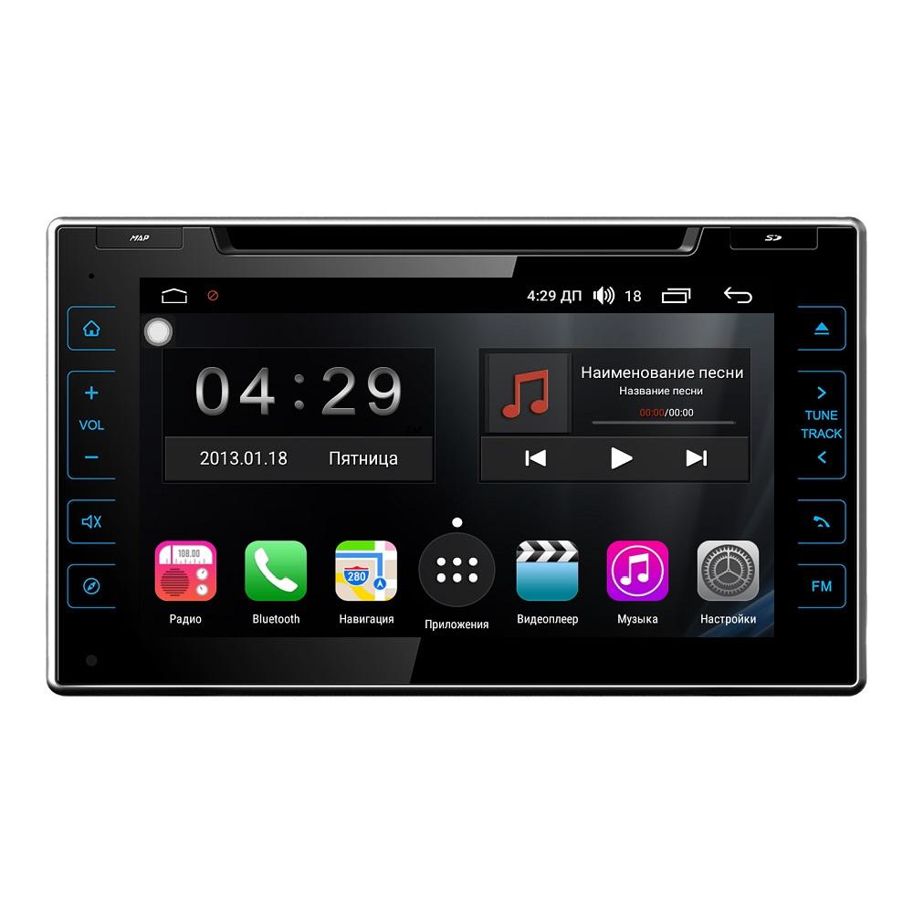 Штатная магнитола FarCar s300 для Toyota Hilux 2015+ на Android (RL588) штатная магнитола incar tsa 2243 для toyota camry 2014 2015 android 8 0