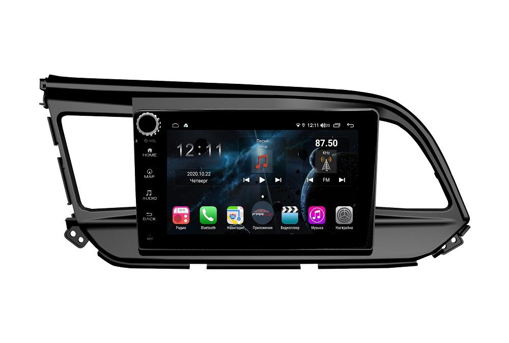 Штатная магнитола FarCar s400 для Hyundai Elantra 2018+ на Android (H1159RB) (+ Камера заднего вида в подарок!)