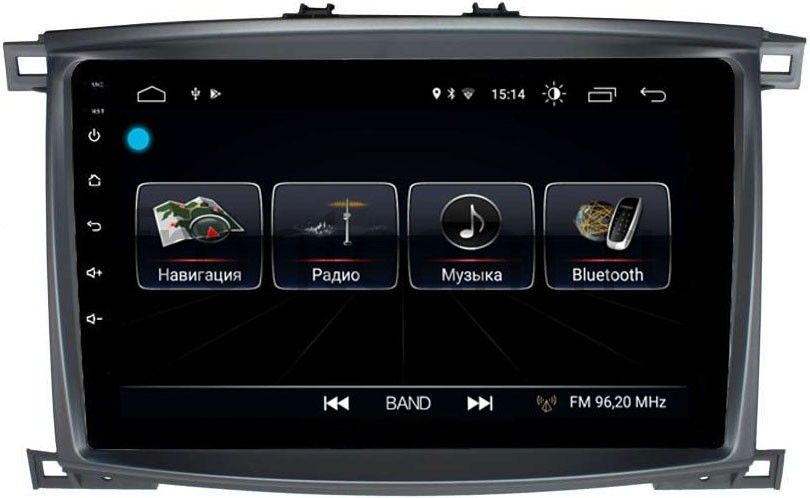 Штатная магнитола LeTrun 2667 для Toyota LC 100 2002-2007 на Android 8.0.1 MTK-L 1Gb (+ Камера заднего вида в подарок!) штатная магнитола toyota land cruiser 100 2002 2007 letrun 2054 на android 7 1 1