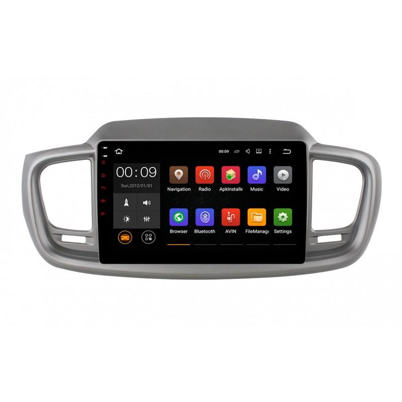 Штатная магнитола Roximo 4G RX-2317 для KIA Sorento 3 Prime (Android 6.0) (+ Камера заднего вида в подарок!)