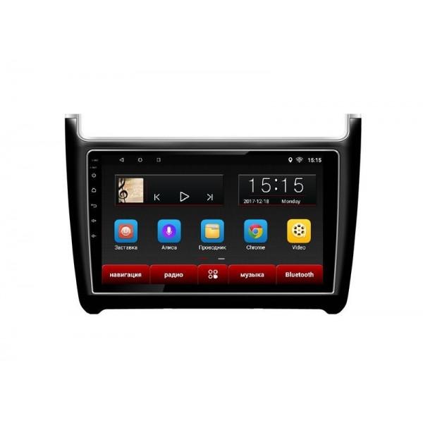 Головное устройство Subini VW901 с экраном 9 для Volkswagen Polo 11-17 (+ Камера заднего вида в подарок!)