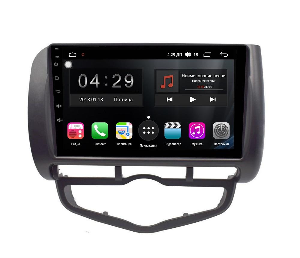 Штатная магнитола FarCar s300 для Honda Fit на Android (RL1232R) (+ Камера заднего вида в подарок!)