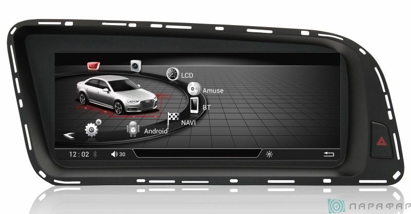 Штатная магнитола Parafar Андроид для Audi Q5 / A4 2017+ (PF9606)