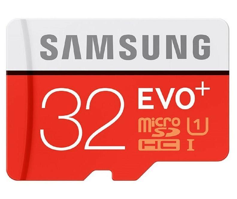 Карта памяти Samsung microSDHC EVO Plus 32Gb UHS-1 20-90MBs