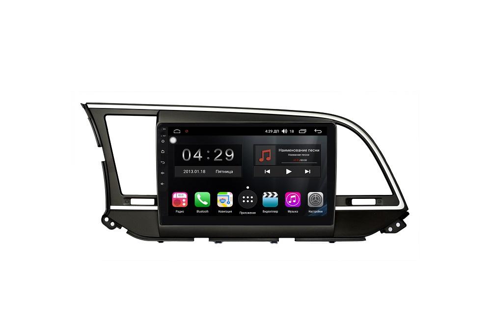 Штатная магнитола FarCar s300-SIM 4G для Hyundai Elantra VI (AD) 2016-2019 на Android (RG581R) (+ Камера заднего вида в подарок!)
