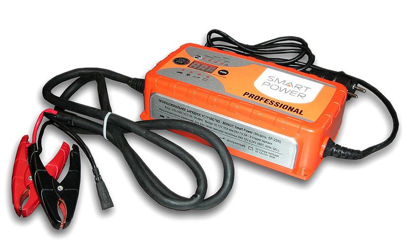 Устройство зарядное АКБ SMART POWER PROFESSIONAL SP-25N (12/24В, 25А)