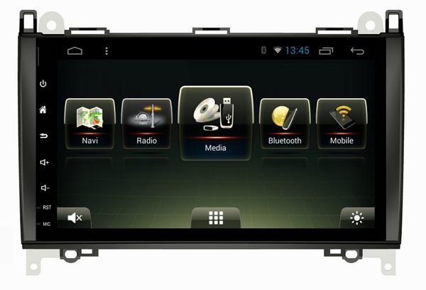 Штатная магнитола CARMEDIA U9-6610-T8 Mercedes A-klasse (W169), B-klasse (W245), Vito, Viano, Sprinter на Android 7.1 msd489av u9