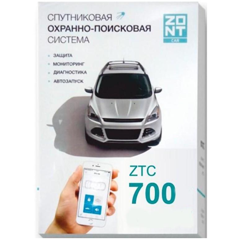 Сигнализация с автозапуском ZONT ZTC-700S