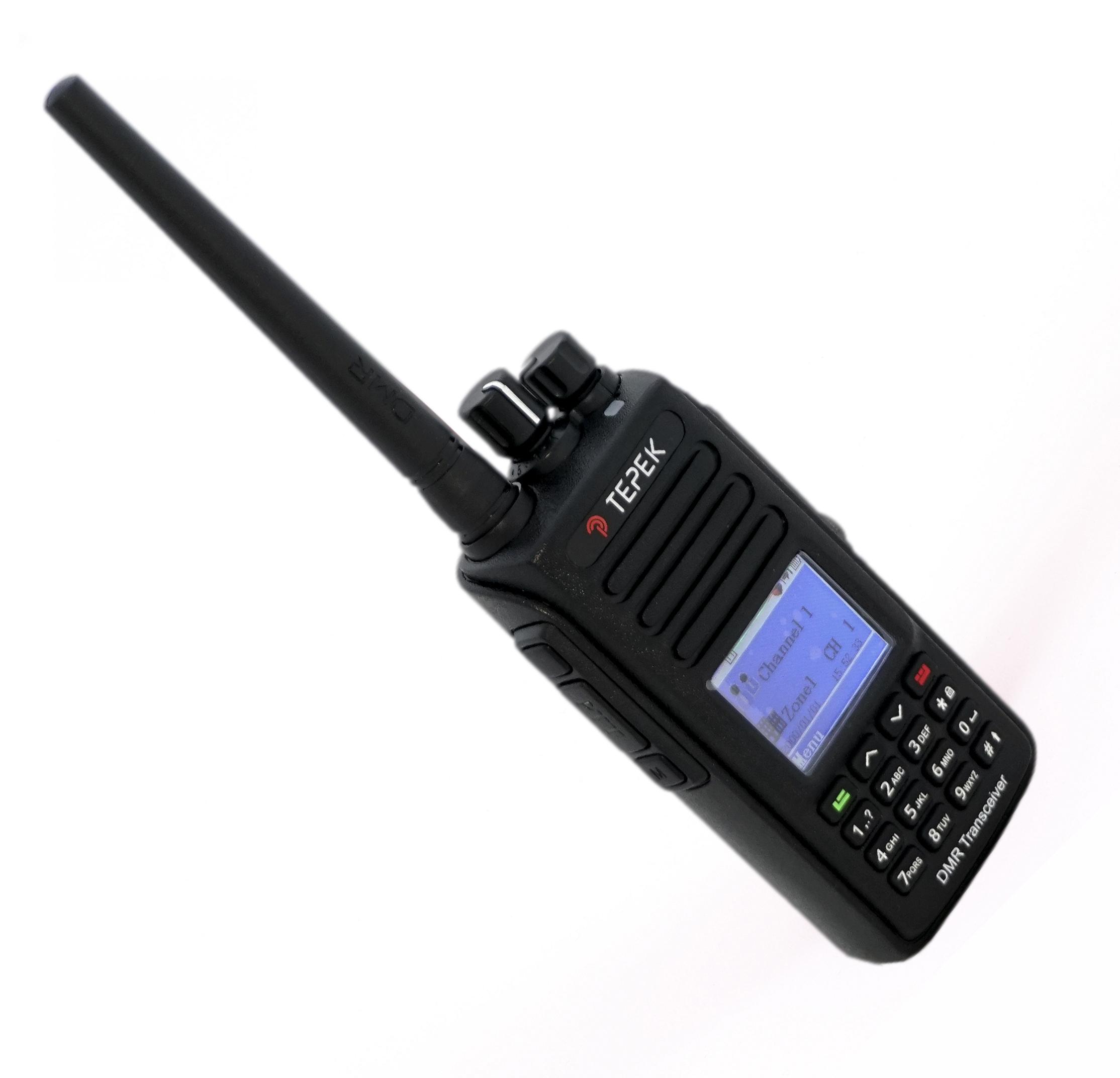 Портативная рация Терек РК-322-DMR GPS портативная рация терек рк 322 dmr uhf гарнитура в подарок