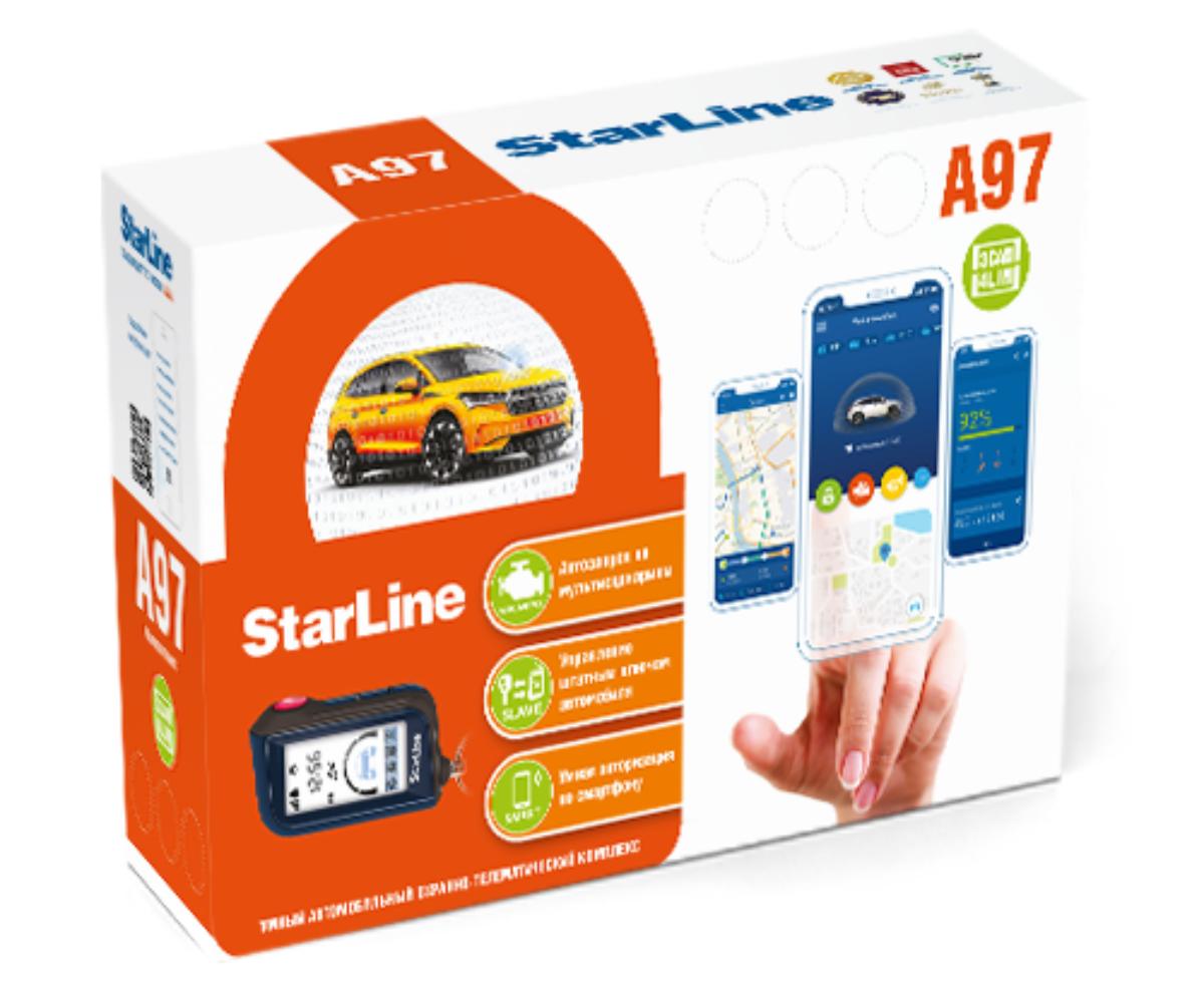 Автосигнализация StarLine A97 3CAN+4LIN