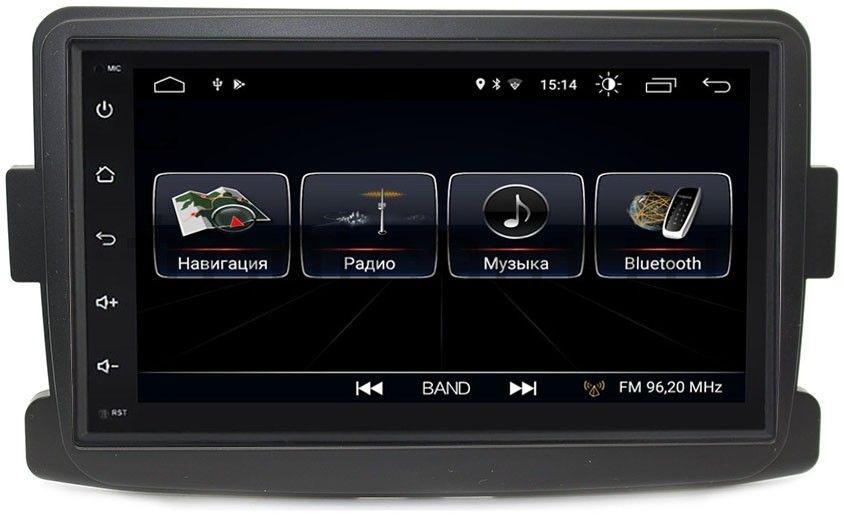 Штатная магнитола LeTrun 2159-RP-RNDSb-08 для Renault Duster, Sandero II, Logan II, Kaptur 2014-2018 Android 8.0.1 MTK-L цена