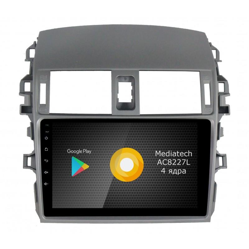 Штатная магнитола Roximo S10 RS-1104 для Toyota Corolla e150 (Android 8.1) (+ Камера заднего вида в подарок!)