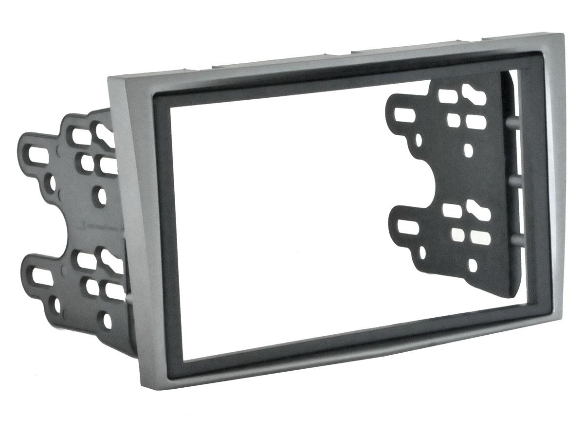 Переходная рамка Incar ROP-N17 для Opel Astra-H 04+ (крепеж) silver