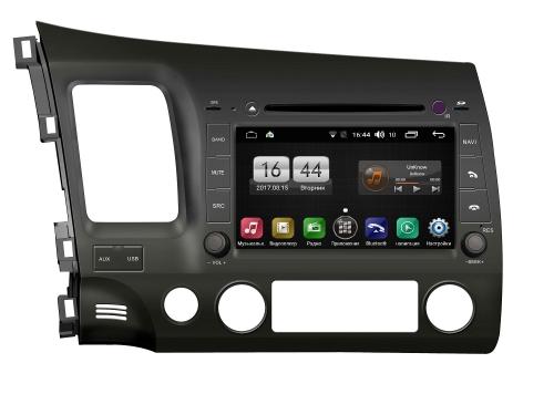 Штатная магнитола FarCar s170 для Honda Civic на Android (L044)