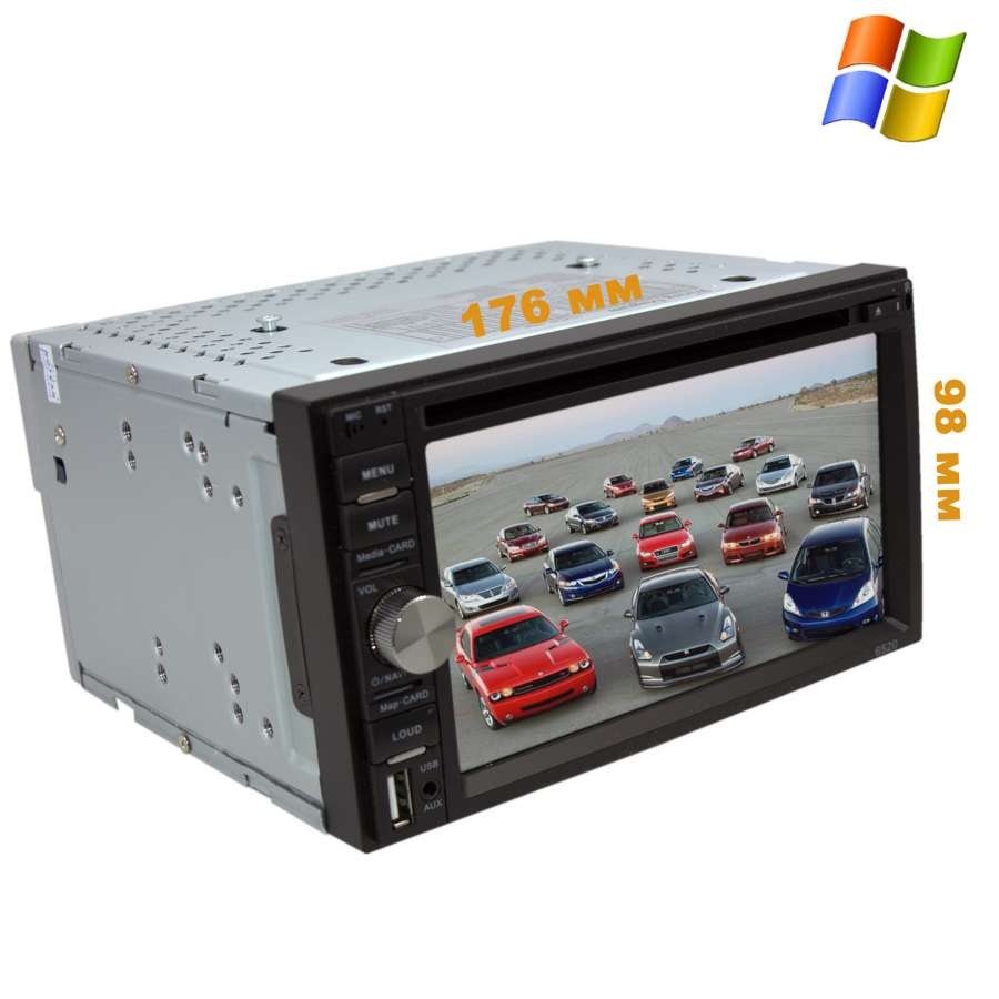 Универсальная магнитола 2 DIN LeTrun 2133 DVD dvd 6 2 ce 6 2 inch 2 din in dash car dvd mp3 player