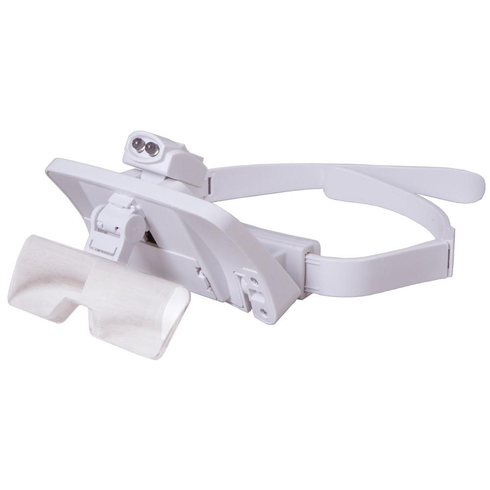Фото - Лупа-очки Levenhuk Zeno Vizor G7 тени для глаз eyeshadow maquiagem sombra m620 eyeliner