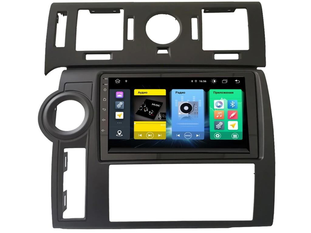 Головное устройство vomi FX467R9-MTK-LTE для Hummer H2 2002-2009 квадратные воздуховоды (+ Камера заднего вида в подарок!)