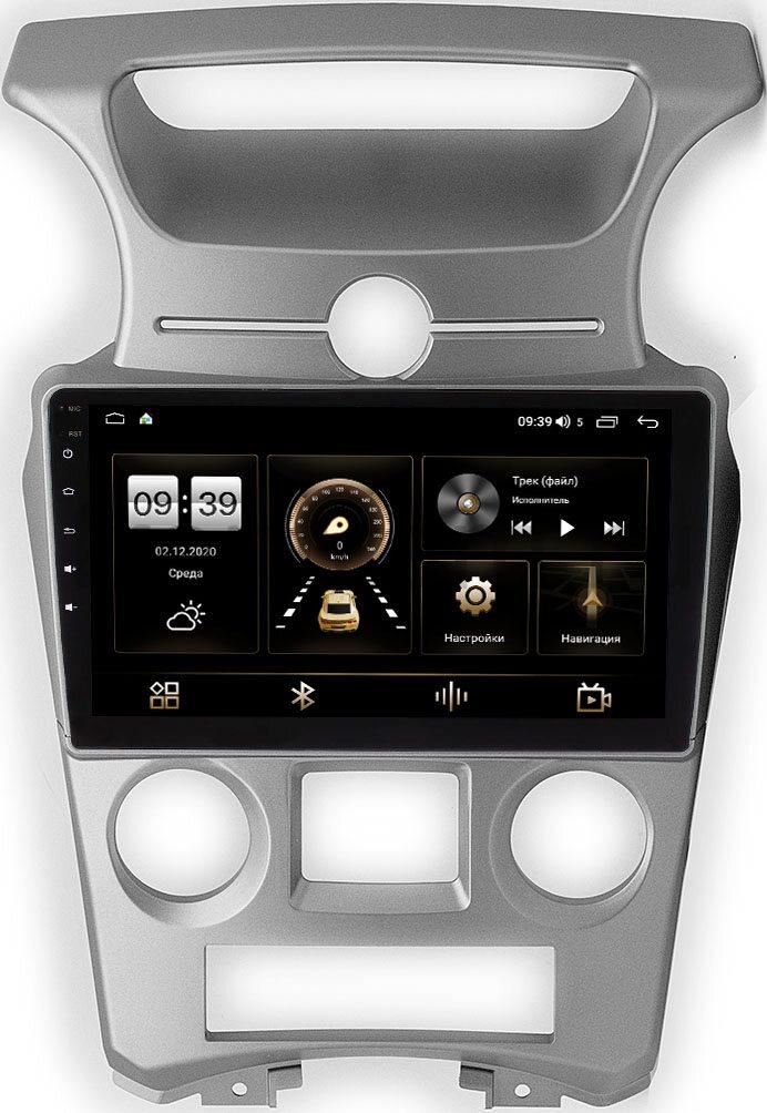 Штатная магнитола Kia Carens II 2006-2012 (с климат-контролем) LeTrun 4166-9-1053 на Android 10 (4G-SIM, 3/32, DSP, QLed) (+ Камера заднего вида в подарок!)
