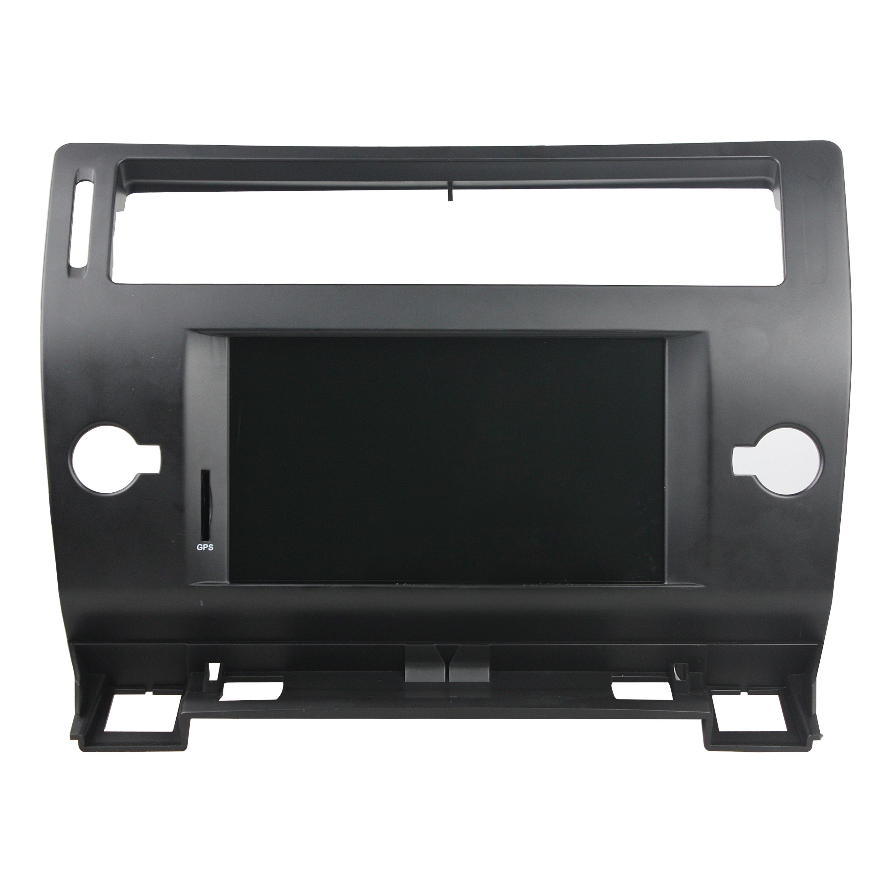 Штатная магнитола CARMEDIA KD-7247-b DVD Citroen C4 2004-2011, C5 черный