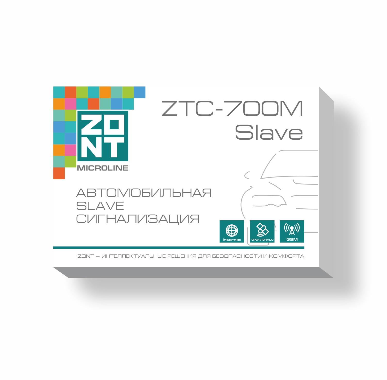 цена на Автомобильная GSM сигнализация ZONT ZTC-700M Slave (2CAN-LIN, GSM/GPS/ГЛОНАСС)