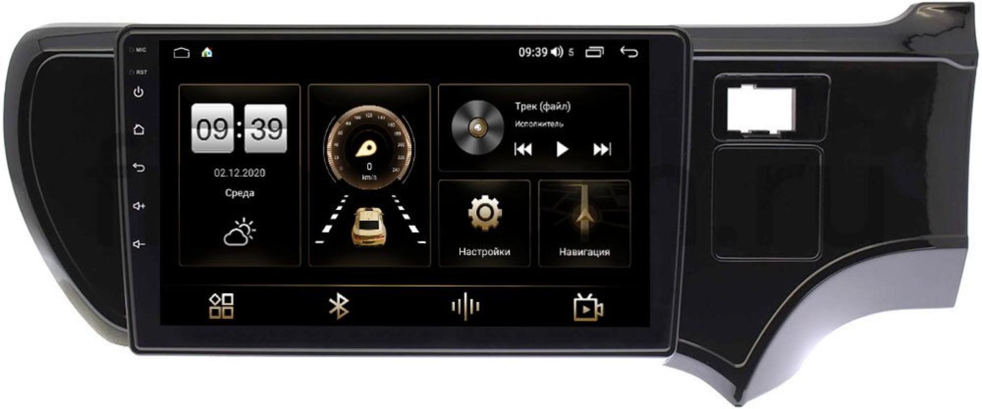 Штатная магнитола LeTrun 3792-9205 для Toyota Aqua 2011-2020 на Android 10 (4/64, DSP, QLed) С оптическим выходом (+ Камера заднего вида в подарок!)