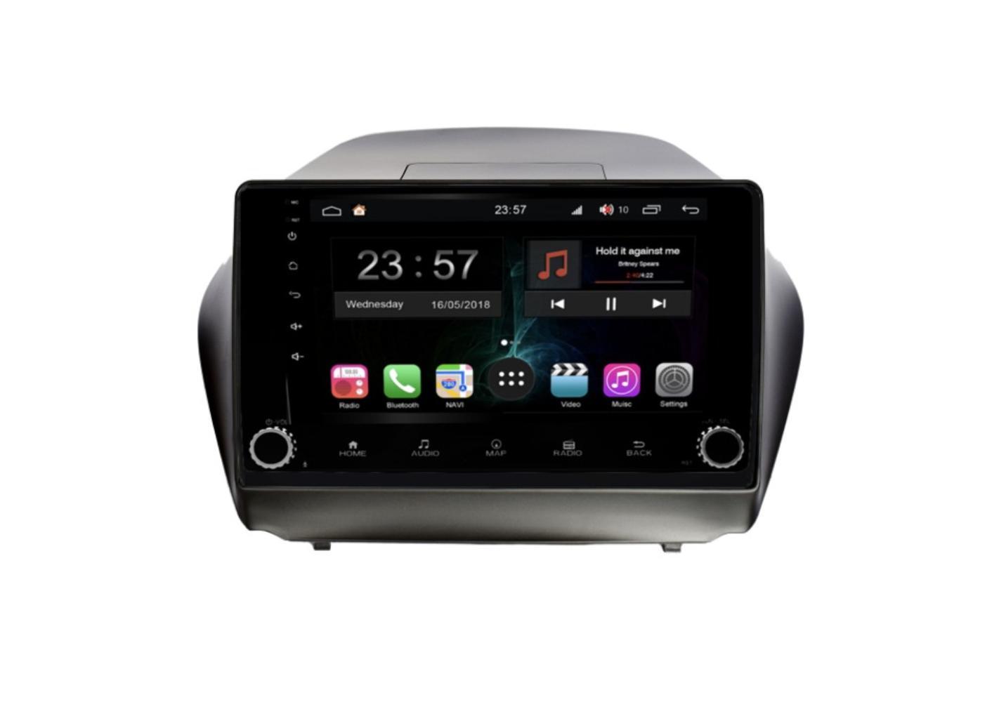 Штатная магнитола FarCar s300-SIM 4G для Hyundai ix35 на Android (RG361RB) (+ Камера заднего вида в подарок!)