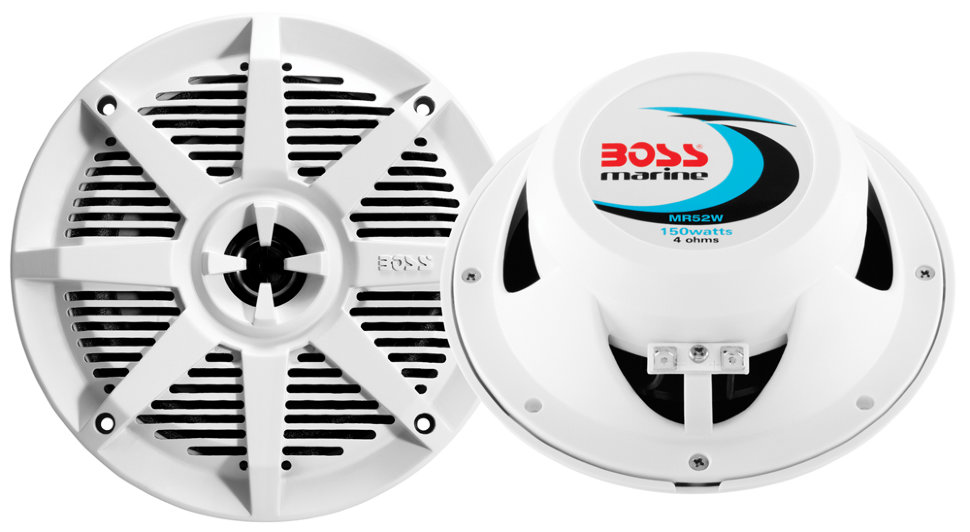 Влагозащищенные динамики BOSS Audio Marine MR52W (5,25