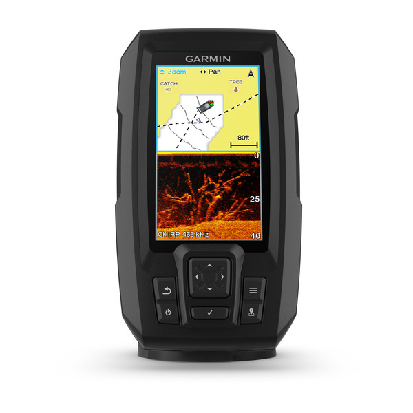 Эхолот Garmin STRIKER PLUS 4CV безынерционная катушка salmo supreme ice 20rd