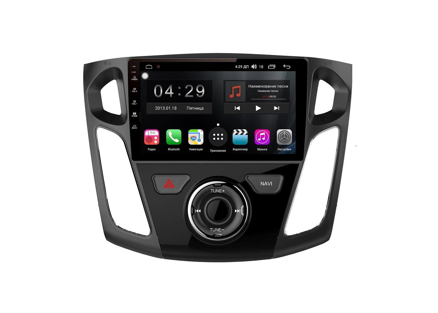 Штатная магнитола FarCar s300-SIM 4G для Ford Focus 3 2015+ на Android (RG150/501R) (+ Камера заднего вида в подарок!)