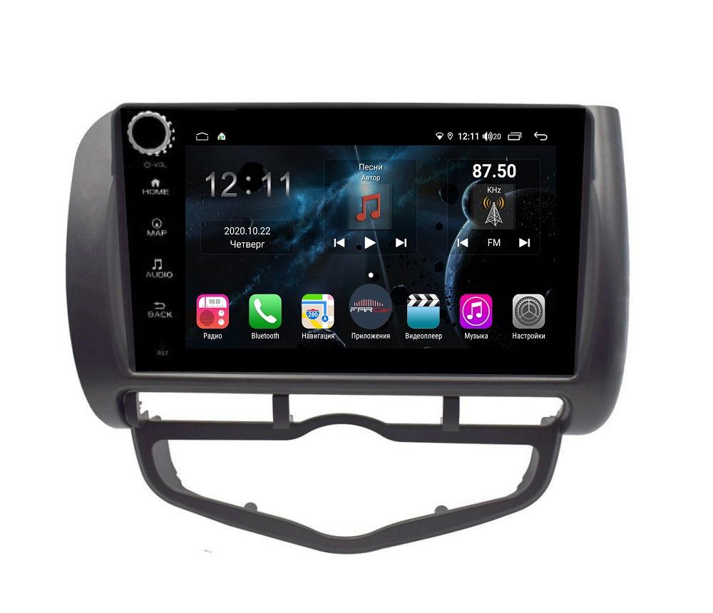Штатная магнитола FarCar s400 для Honda Fit на Android (H1232RB) (+ Камера заднего вида в подарок!)