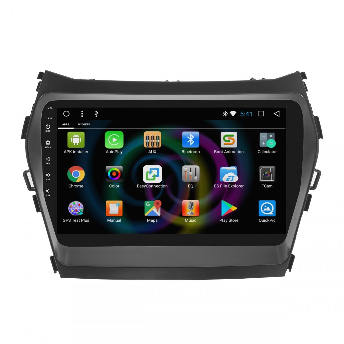 Штатное головное устройство MyDean B209 для Hyundai Santa Fe (2013-2018) (+ Камера заднего вида в подарок!) штатное головное устройство daystar ds 7004hd hyundai santa fe android 6