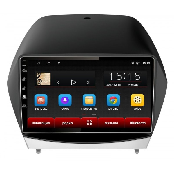 Головное устройство Subini HYD101 с экраном 102 для Hyundai IX35 (2010-2015) (+ Камера заднего вида в подарок!).