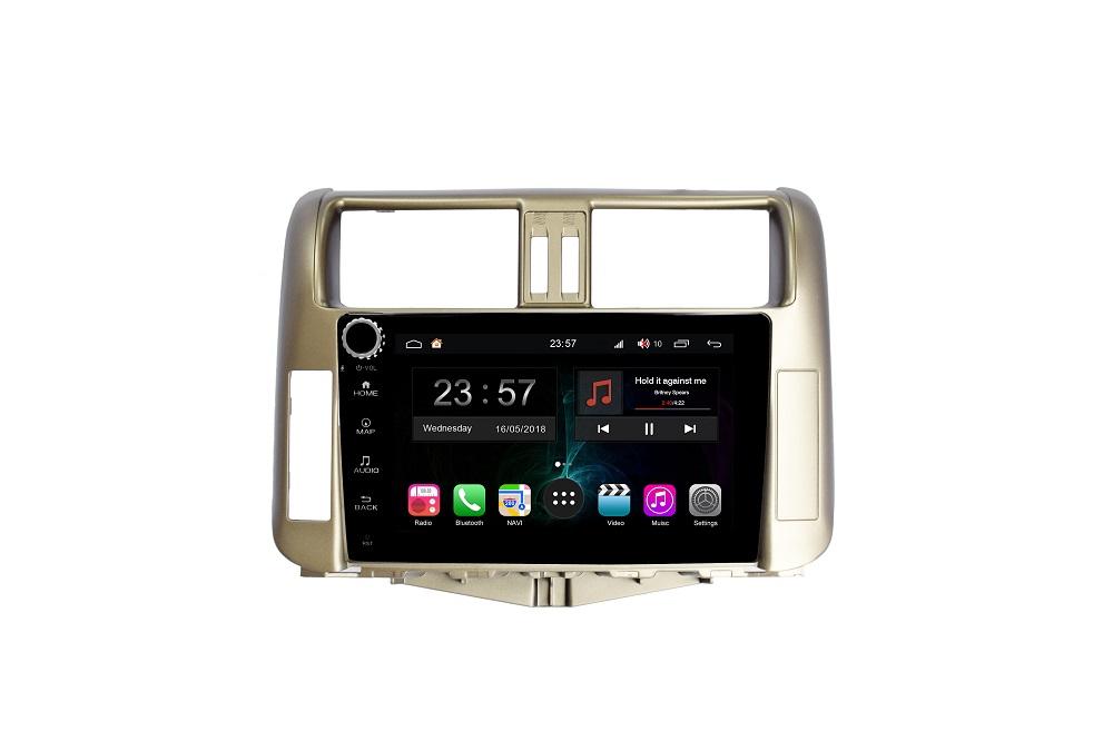 цена на Штатная магнитола FarCar s300-SIM 4G для Toyota PRADO на Android (RG065RB) (+ Камера заднего вида в подарок!)