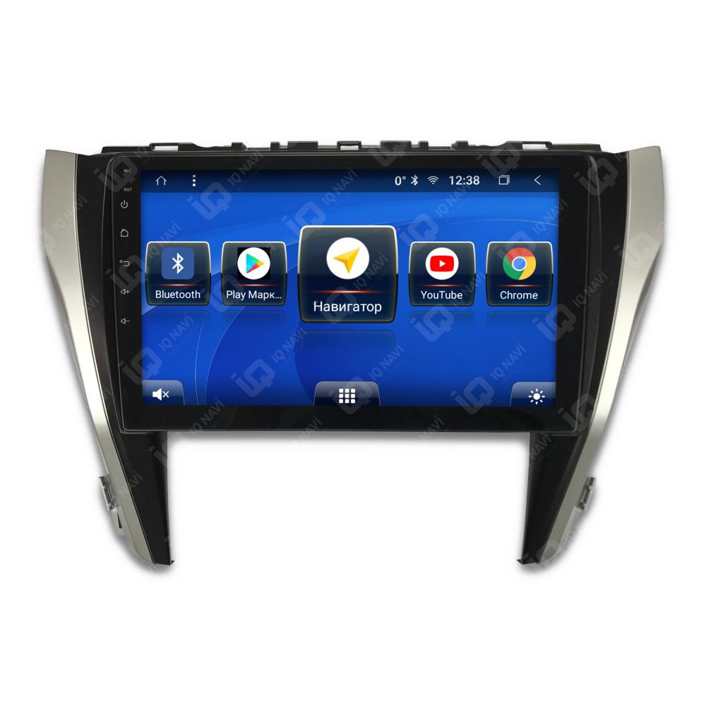 Автомагнитола IQ NAVI T58-2918CFHD Toyota Camry V55 (2014-2018) 10,1 (+ Камера заднего вида в подарок!)