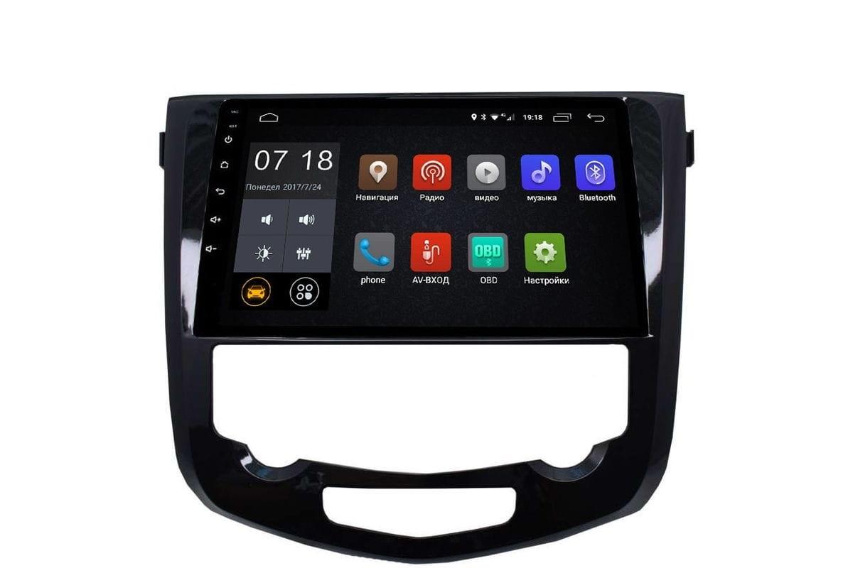 Штатная магнитола Nissan Qashqai II, X-Trail III (T32) 2015-2019 LeTrun 2635 Android 6.0.1 10 дюймов (4G LTE 2GB) (+ Камера заднего вида в подарок!)