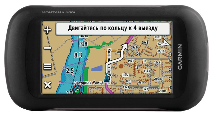 Навигатор Garmin Montana 680 (Официальный дилер в Москве)