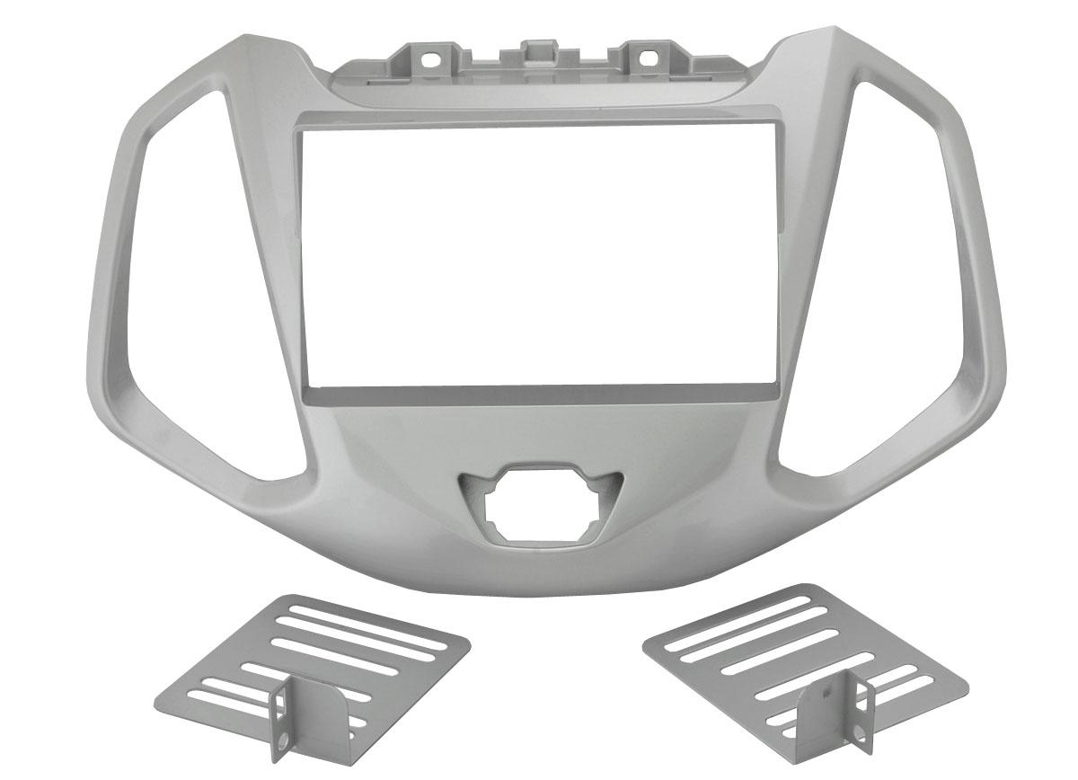 Переходная рамка Intro RFO-N30SL для Ford Ecosport 2012+ (крепеж) silver
