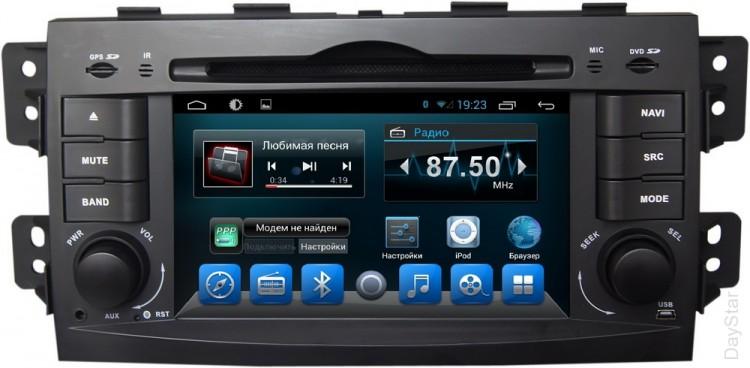Штатная магнитола DayStar DS-7102HD KIA Mohave 2009+ Android 6